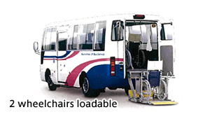 2 wheelchairs loadable